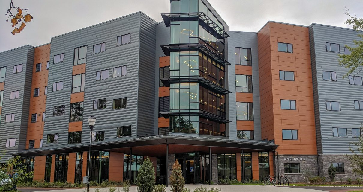 Kingston Hall is the latest residence hall at SNHU