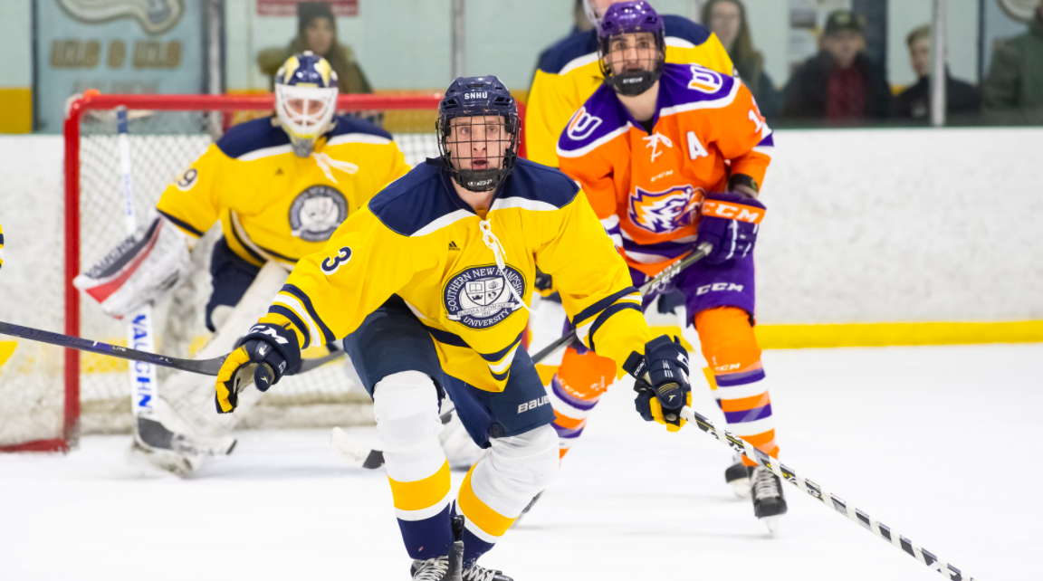 Ice Hockey Determined To Snap Losing Streak To Saint Anselm This